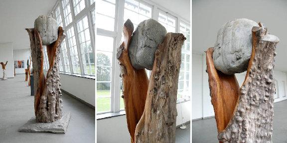 2005 – Apfelbaum, Findling – 2,40m