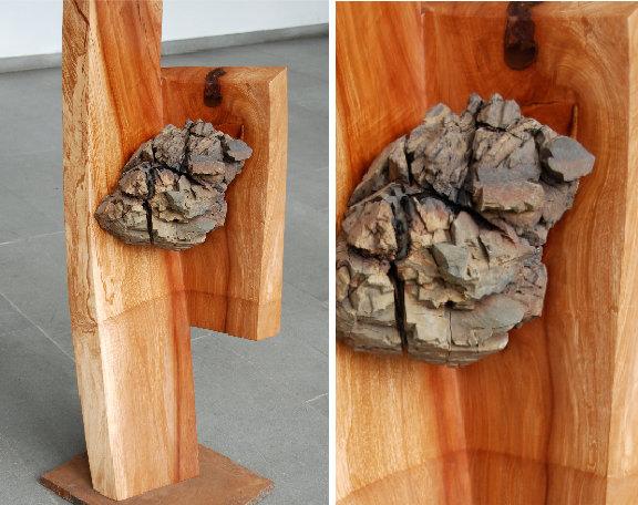 2009 – Birne, Vulkangestein – 1,20m